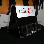 Expositor porta-folhetos nails4us.