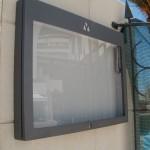 Caixa porta informações com iluminação interior e fechadura, Hotel Bela Vista SPA.