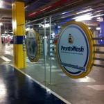 Interior de loja ProntoWash.